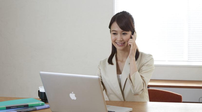 コールセンターの営業職は正社員採用が多く、研修も充実している